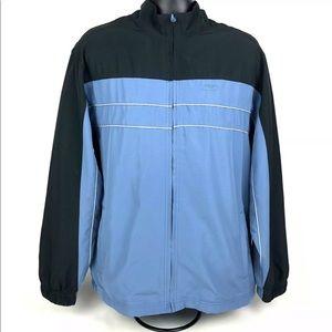 Reebok Men's Jacket Sz Large Windbreaker Full-Zip